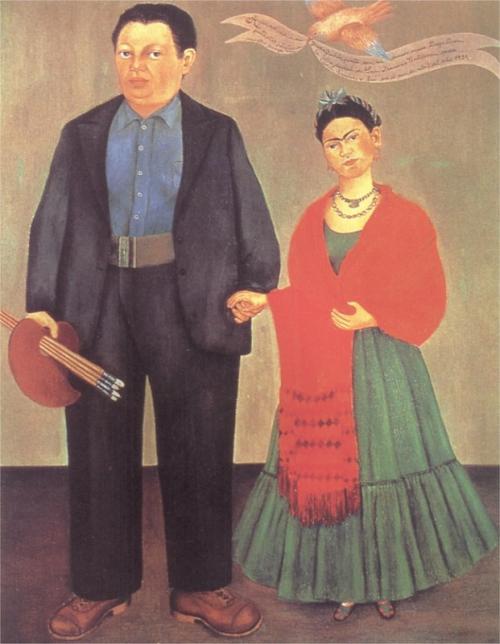Frida Kahlo, Frida and Diego Rivera, 1931