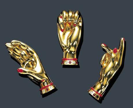 Paul Flato sign language pins