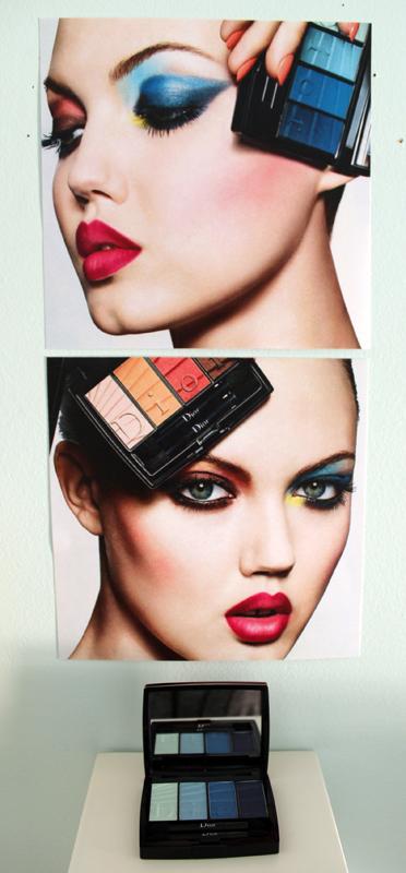 Dior spring 2017 makeup
