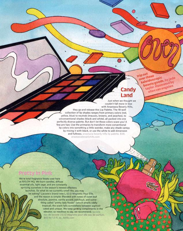 Nylon magazine, March 2017