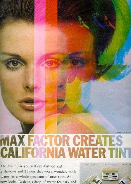 1967 Max Factor ad