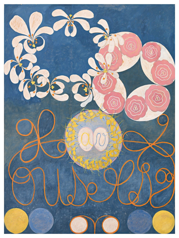 The Ten Largest, No. 1, Childhood, Group IV - by Hilma af Klint (1907)