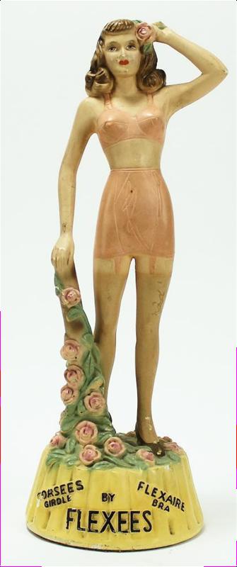 Vintage Flexees lingerie mannequin