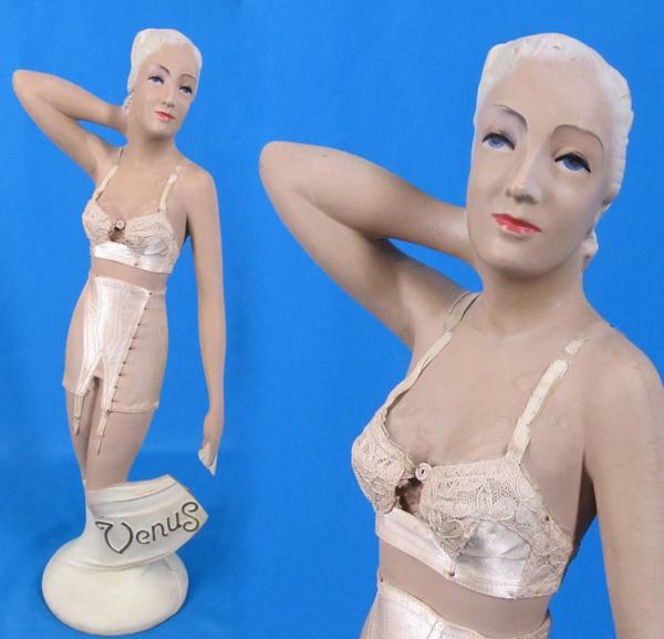 Vintage lingerie mannequin