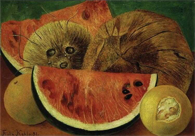 Frida Kahlo, Coconuts, 1951