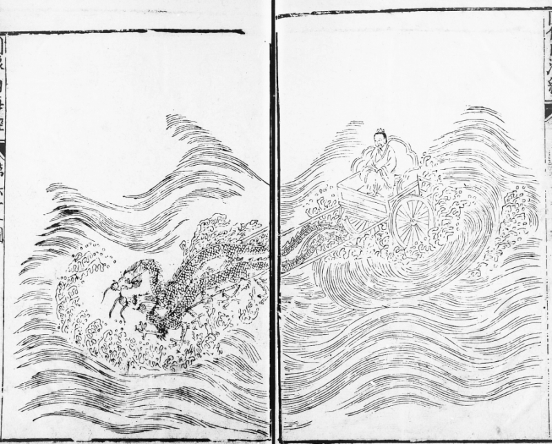 Classic of Mountains and Seas illustration, 1597