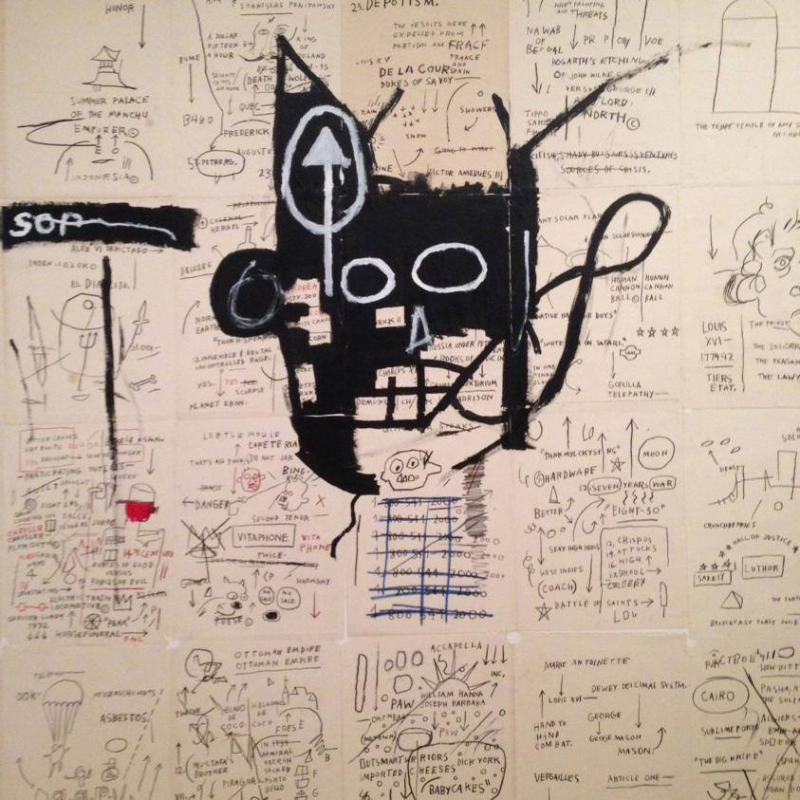 Jean-Michel Basquiat, Untitled, 1982-83