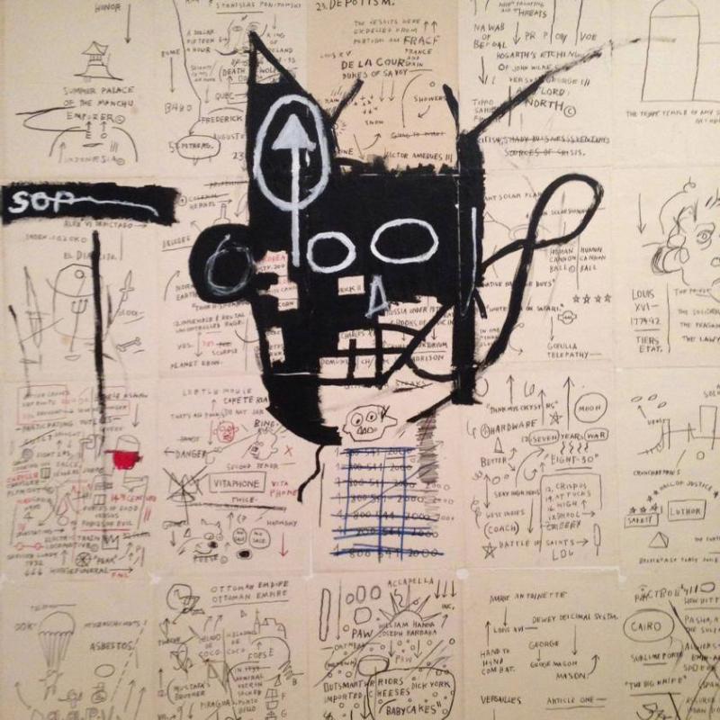 Jean-Michel Basquiat, Untitled, 1982-83