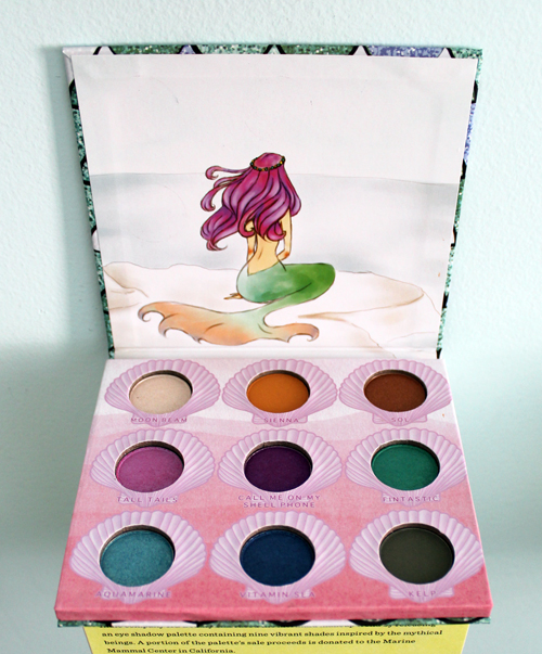 KG Beauty Mermaid palette