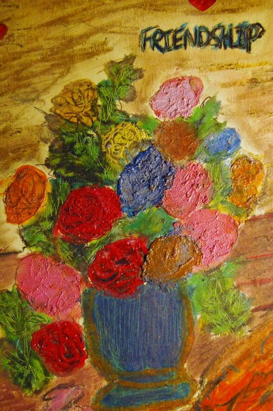 Gloria Garrett, Friendship Flowers, 2014