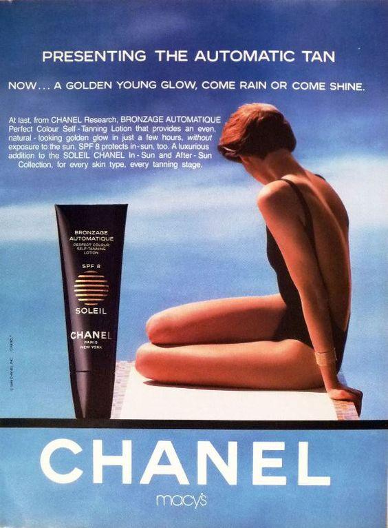 Chanel Soleil ad, 1990