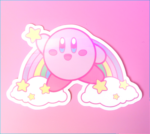 Megan Allison - Kirby sticker