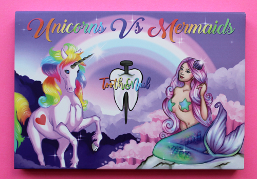 Tooth & Nail Unicorns vs. Mermaids palette