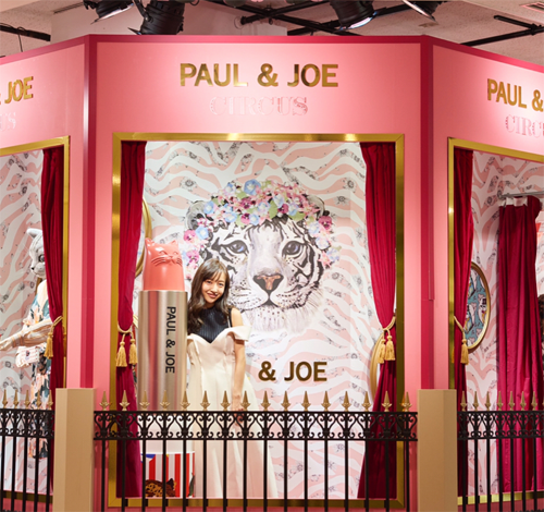 Paul & Joe Isetan circus event