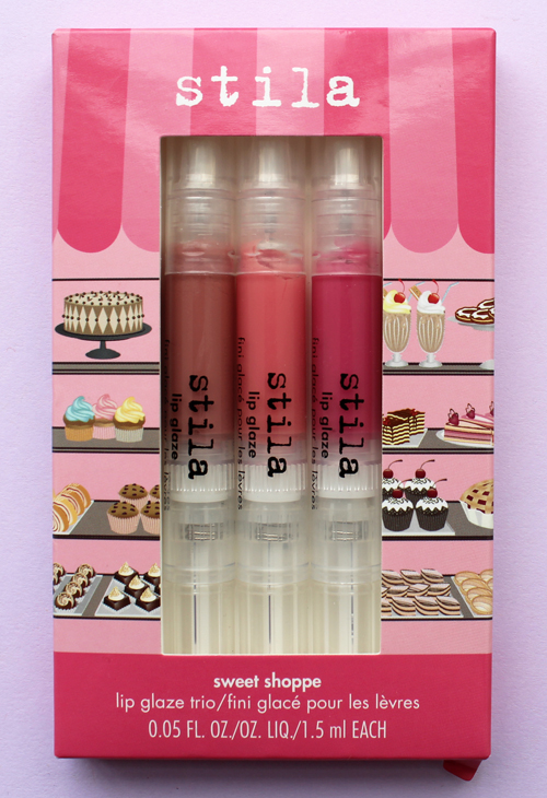 Stila sweet shoppe lip glaze trio