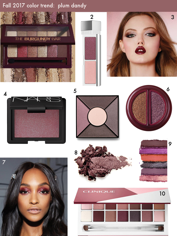 Fall 2017 color trend
