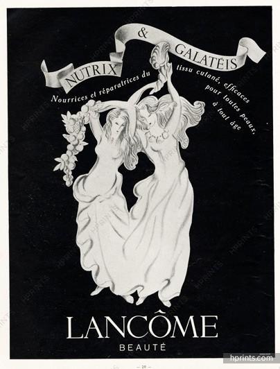 Lancôme ad, 1948