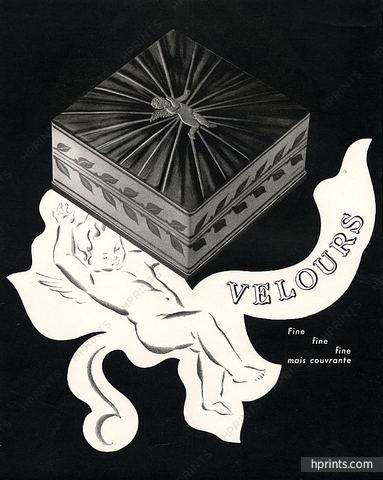 Lancôme ad, 1947