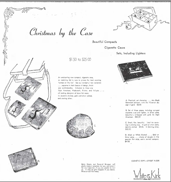 Elgin compact ad, November 1948