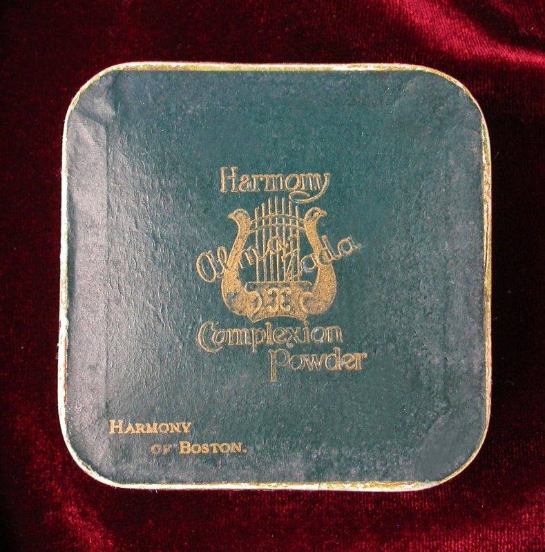 Harmony of Boston face powder, ca. 1914