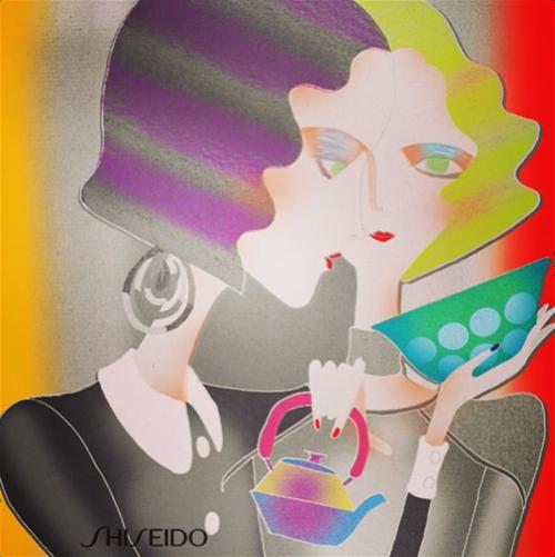 Hiroshi Tanabe for Shiseido, 2014