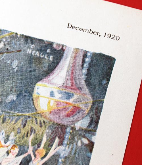 Djer Kiss Christmas ad, 1920