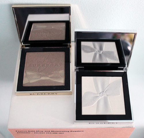Burberry holiday 2016 and 2017 highlighters