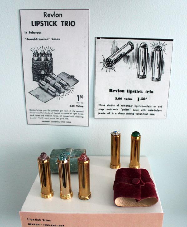 Vintage Revlon lipstick trios