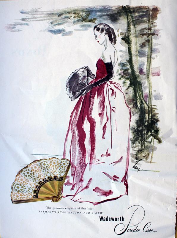 Wadsworth ad, 1947