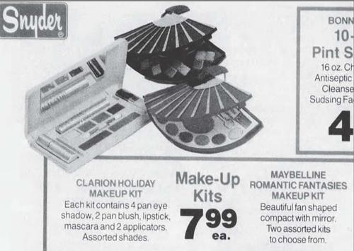 Maybelline ad, November 1988