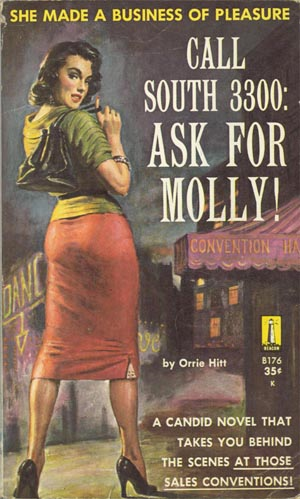 Call South 3300:  Ask for Molly pulp cover