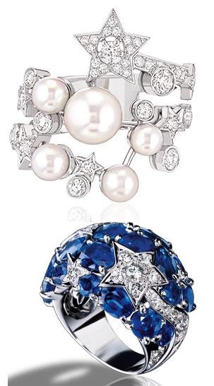 Chanel Comète rings