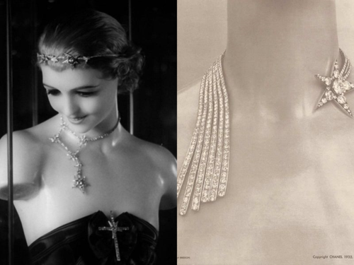 Chanel Comète jewelry, 1932