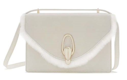 Armani Luxury White capsule bag