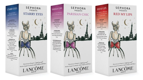 Lancome Sephora Presents to Paris sets 2014