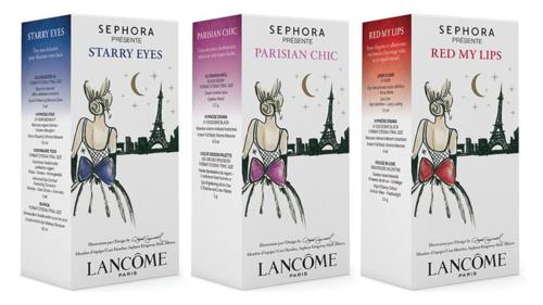 Lancome Sephora Presents to Paris sets 2014