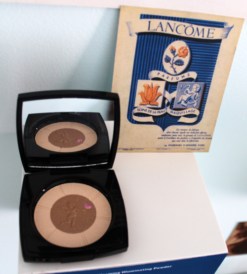 Makeup Museum 2014 holiday exhibition - Lancôme Sparkling Cherub palette
