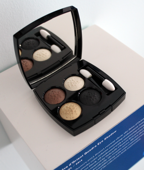 Makeup Museum 2014 holiday exhibition - Chanel Rêve d'Orient quad
