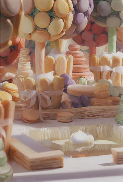 Will Cotton:  Macaron Garden (2012)