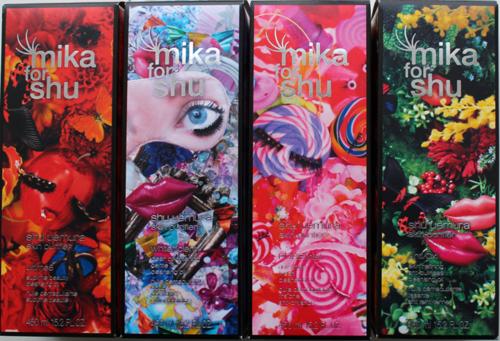 Mika Ninagawa for Shu Uemura, spring 2014