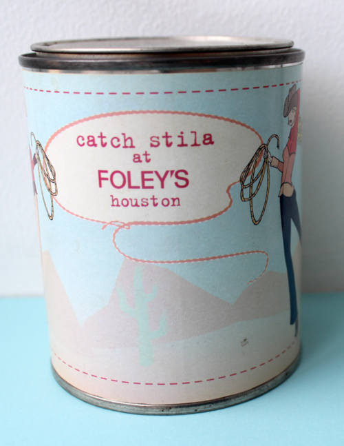 Stila Foley's paint can