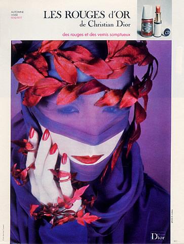 Dior ad, 1976
