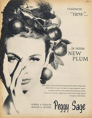 Peggy Sage ad, 1961