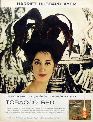 Harriet Hubbard Ayer ad, 1960