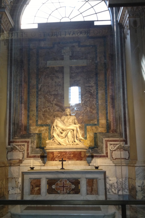 St. Peter's - Pieta by Michelangelo
