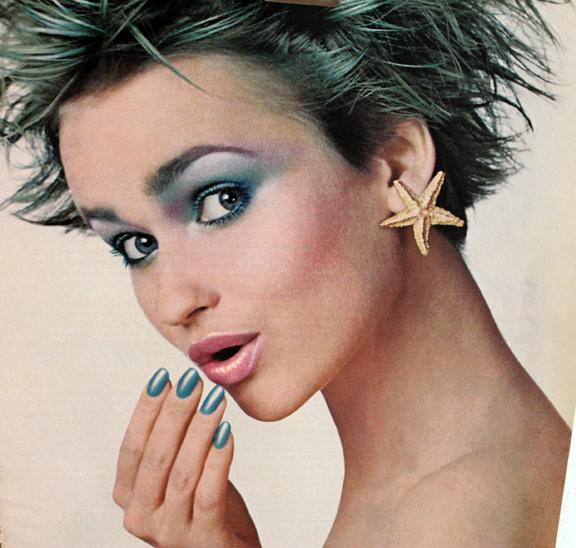 Cutex Sea Pearls ad closeup