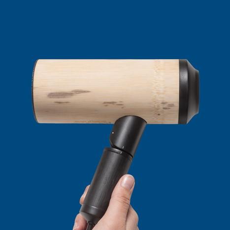 Bamboo hairdryer