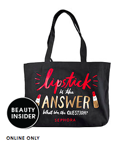 Sephora Beauty Insider tote bag