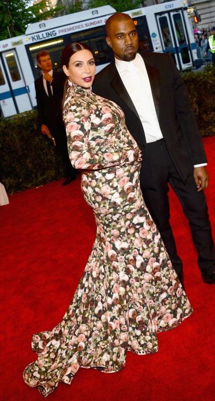 Kim Kardashian in Givenchy - Met gala, 2013