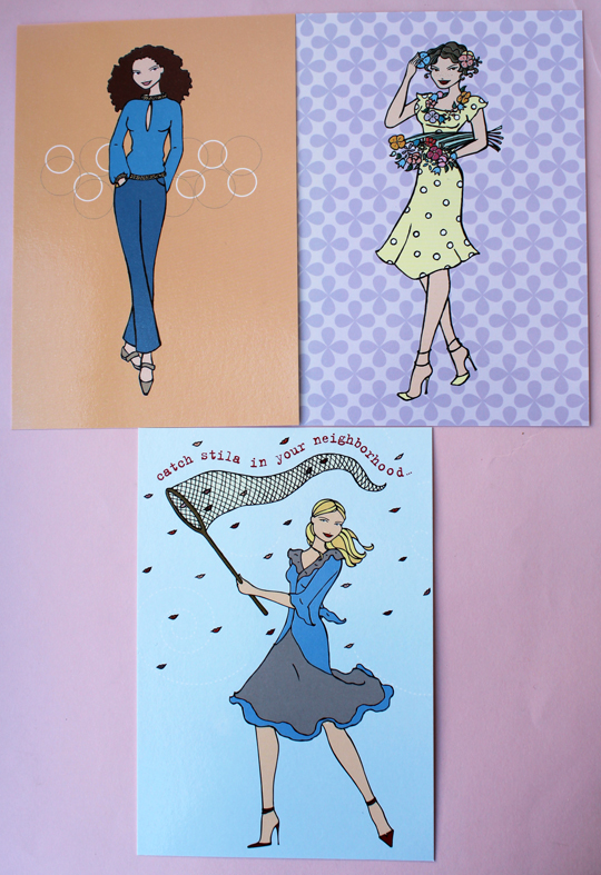 Stila postcards, ca. late 1990s